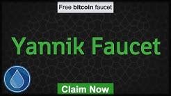 Yannik Faucet   BTC Faucet, 5% Daily, Satoshi Banking System