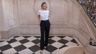 Karlie Kloss, Olivia Palermo and more front row for the Dior Fashion Show