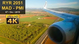 FLIGHT EXPERIENCE | Madrid - P. Mallorca | RYANAIR B737