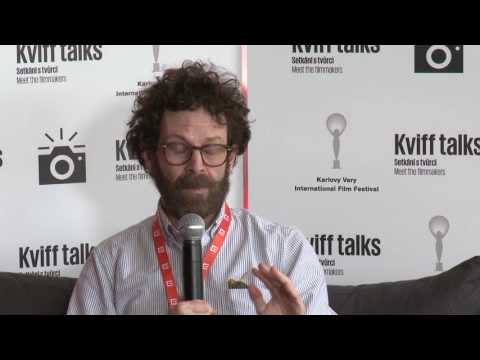 KVIFF TALK with Charlie Kaufman  KVIFF TALK s Charliem Kaufmanem