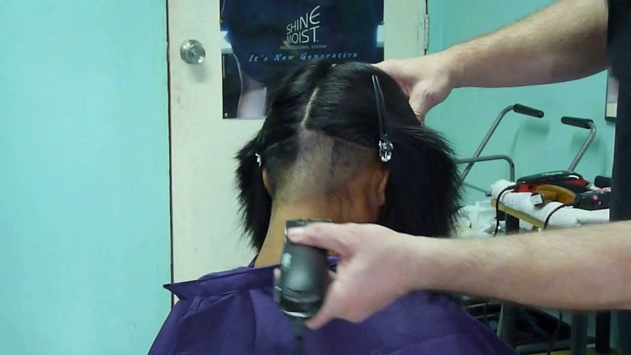 how to buzz cut hair with clippers