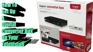 How To Set Up Your Digital Converter Box To Your TV - VERY EASY