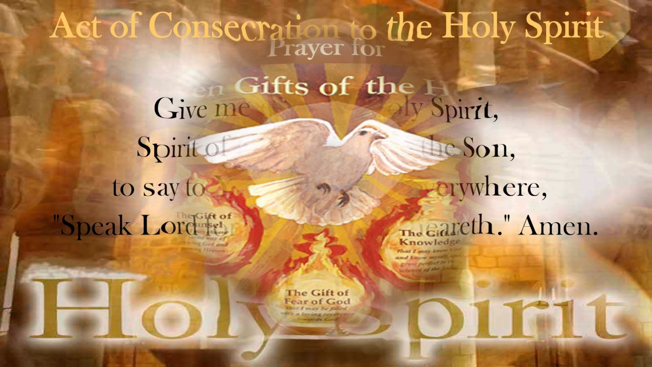 Novena to the Holy Spirit for the Seven Gifts ~ Day 3