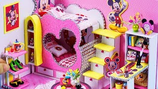 DIY Miniatures Dollhouse ~ Mickey Mouse Room Decor #43