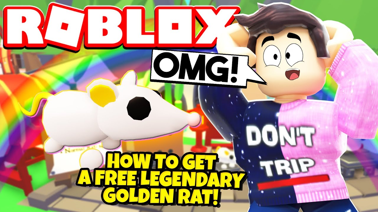 How To Get A Free Legendary Rat Pet In Adopt Me New Adopt Me Lunar Update Roblox Youtube