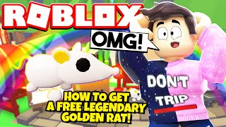 How to Get a FREE LEGENDARY RAT PET in Adopt Me! NEW Adopt Me Lunar Update (Roblox)