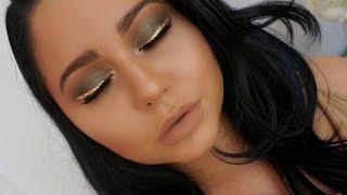 Camel & Olive Eyes + Gold Liner | Chit Chat Tutorial