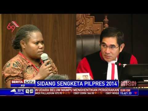 Special Report: Saksi dari Papua Bikin Heboh Sidang MK