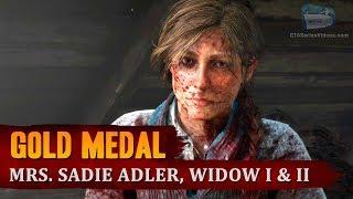 Red Dead Redemption 2 - Mission #83 - Mrs. Sadie Adler, Widow I & II [Gold Medal]
