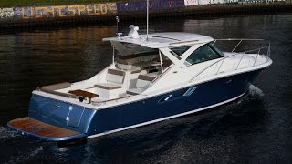 2015 Tiara 36 with Twin Cummings QBS 6.7's in Bentley Blue