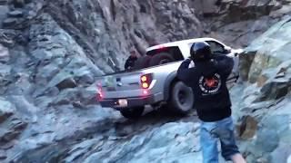 Ford Raptor Wet Rock Climb 3