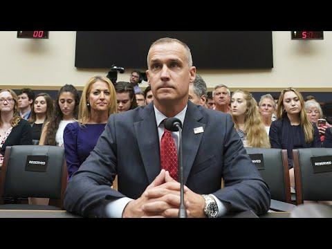 Watch live: Former Trump campaign manager Corey Lewandowski testifies in impeachment hearing