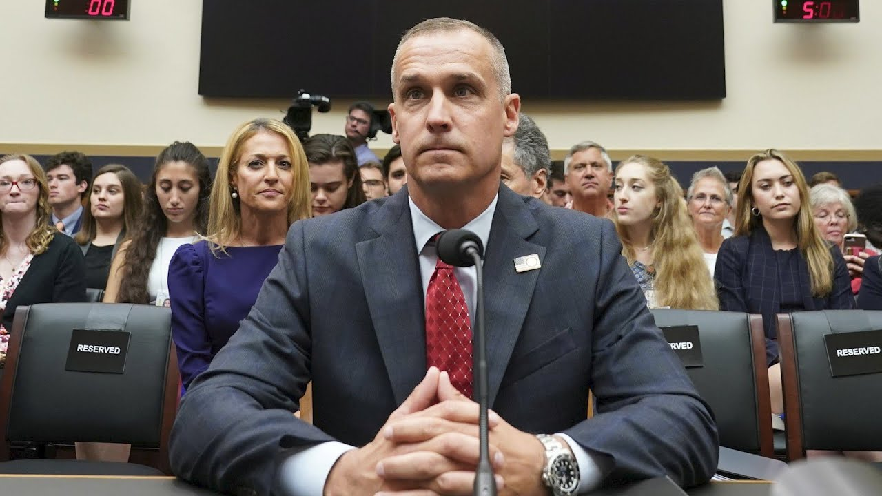 Former Trump campaign manager Corey Lewandowski testifies