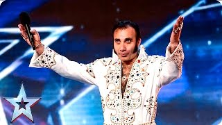 Can Steve Singh's swinging hips sway the Judges? | Week 3 Auditions | Britain's Got Talent 2016