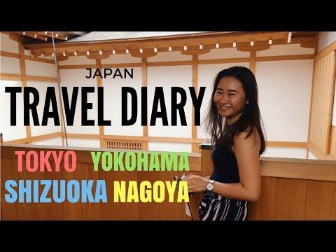TRAVEL DIARY! TOKYO TO KANAGAWA TO SHIZUOKA TO NAGOYA!