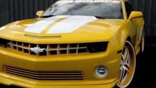 "RIM SOURCE MOTORSPORTS CAMARO 24"" MHT ILLUSION"