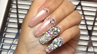 Watch Me Do My Nails | Acrylic Nails Tutorial