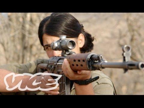 Female Fighters of Kurdistan (Part 1/3)
