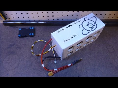 """Tesla"" Style Battery BUILD for Gemini V-2 And other FPV Planes!"