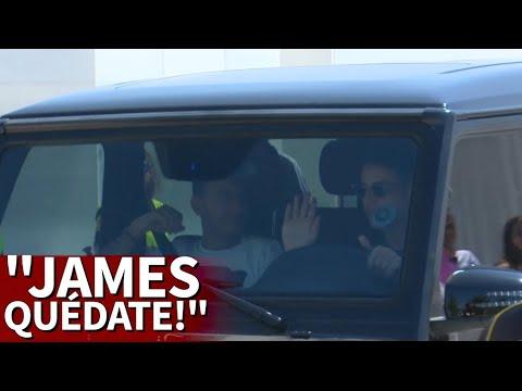 """¡James, quédate!"" Así"
