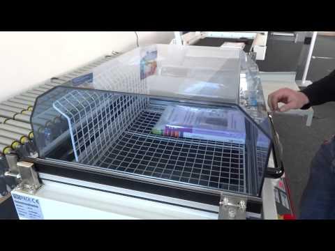 Haubenschrumpfmaschine / Haubenschrumpfgerät - www.tbs-pack.de -