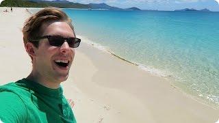 The Whitest Beach in the WORLD!   Evan Edinger Travel Vlogger