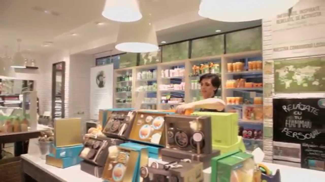 Únete a nuestras franquicias The Body Shop! - YouTube