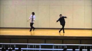 中学校の文化祭でダンスを踊る双子の姉妹が凄過ぎ!その2 'N Sync - Gone.