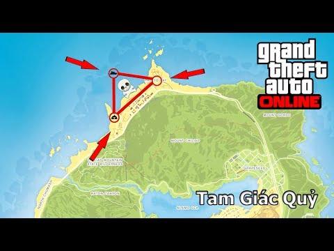 [GTA5] – Truy Lùng Tam Giác Quỷ Trong GTA 5 Online – Bí Ẩn Trong GTA 5