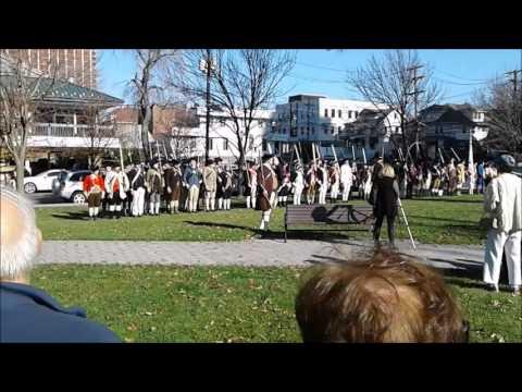 Reenactment of General Washington's 1776 Fort Lee Retreat to Victory - November 19, 2016