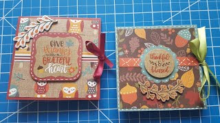 Fall Squash Fold Cards | Maymay Made Design Team Project