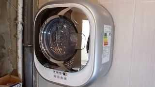 Работа настенной стиральной машины DAEWOO DWD-CV701PC
