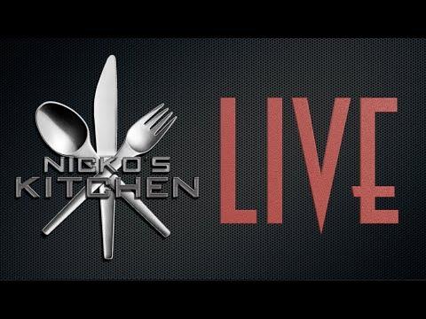 Nicko's Kitchen Live Stream