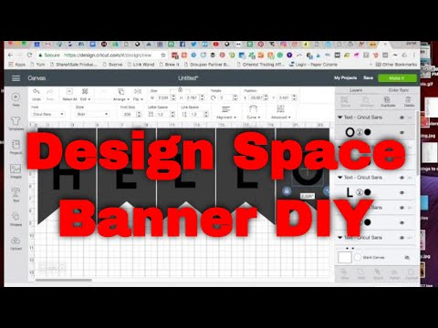 Design Space - How to Create a Banner - Easy