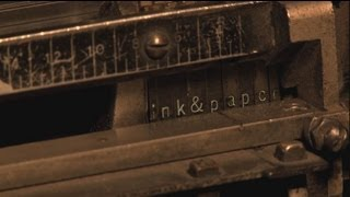 Ink & Paper - Last Letterpress and Paper Company in Los Angeles