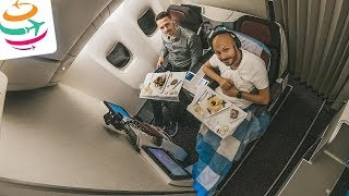 Lecker! Austrian Business Class mit feinem Do&Co Catering | YourTravel.TV