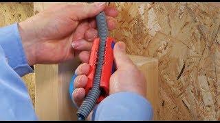 KNIPEX TwistCut, Corrugated Pipe Cutter