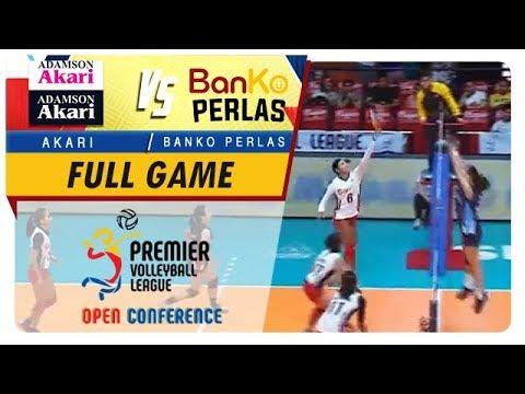 PVL OC 2018: BanKo-Perlas vs. Adamson-Akari   Full Game   1st Set   November 4, 2018