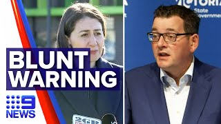 Coronavirus: NSW Premier issues blunt warning | Nine News Australia