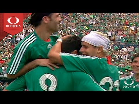 Futbol Retro: México 2 - 1 Paraguay | Amistoso 25-marzo-2007 | Televisa Deportes