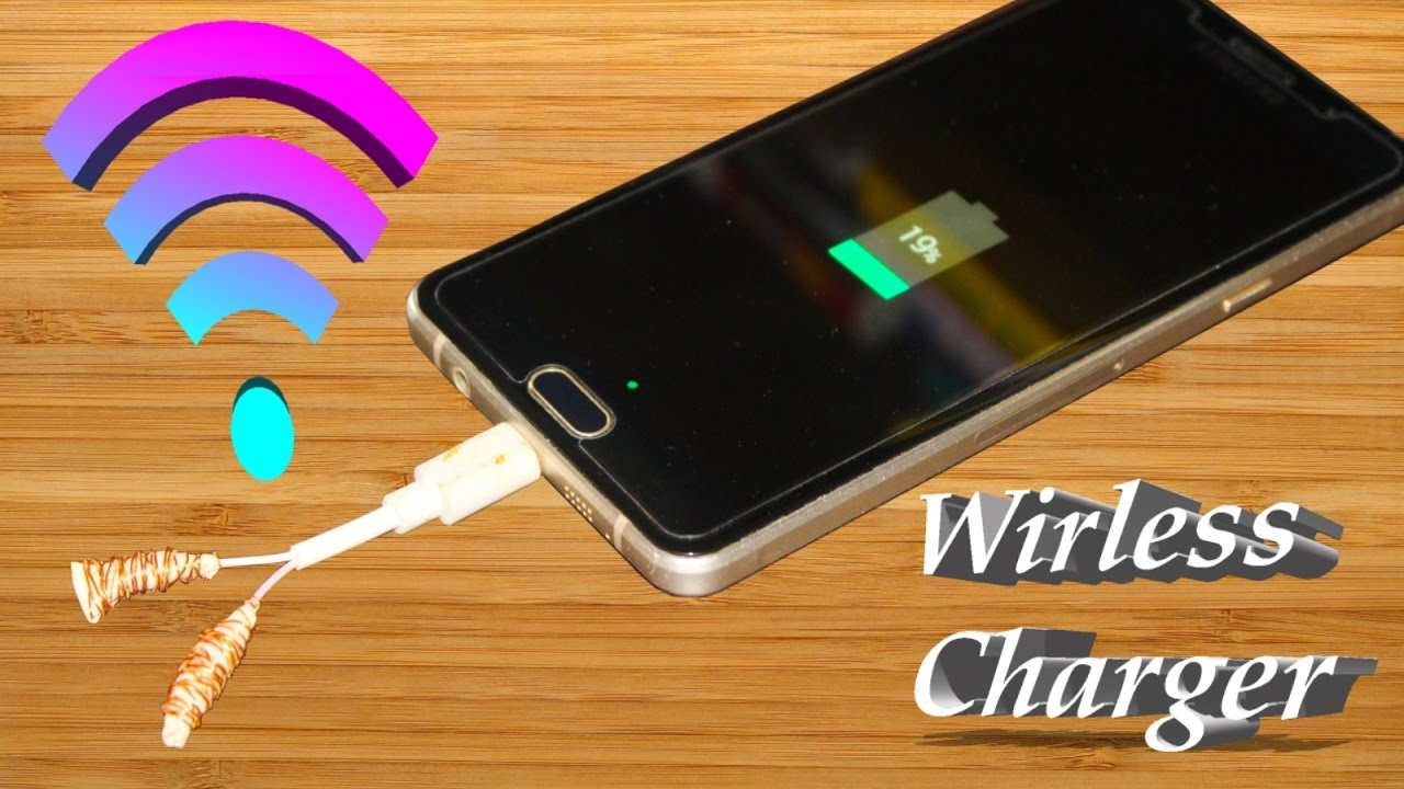 How To Make A Wireless Charger At Home Very Easy Way Youtube