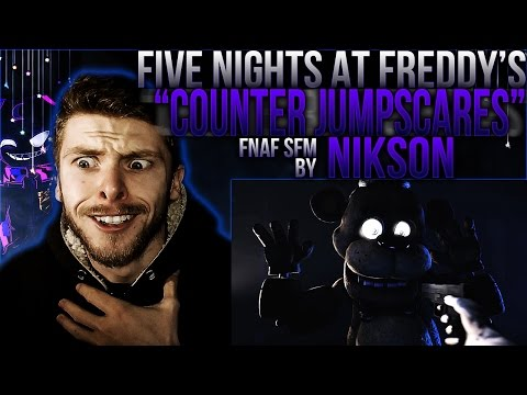 "Vapor Reacts #224 | [FNAF SFM] ANIMATION ""FNAF 1: Counter Jumpscares"" by Nikson REACTION!!"