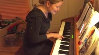 Пока горит свеча - Марина музицирует дома