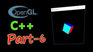 OpenGL Tutorial - 6 | Rotation and Hidden Surface Removal | OpenGL in C++ with the GLUT library