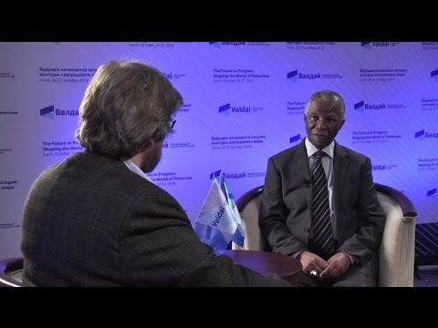 Thabo Mbeki: Multipolarity Requires Restructuring of International Institutions