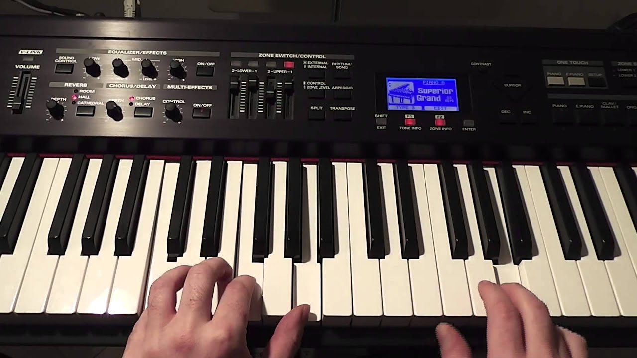 how to play wrld discovery on piano