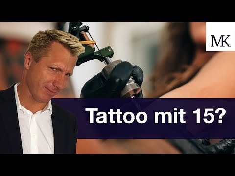 Tattoo mit 15: Das können Eltern wirklich dagegen tun! #FragMingers