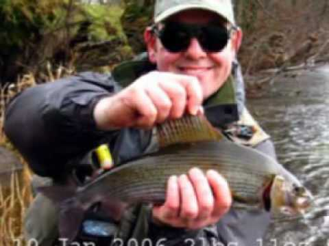Grayling Fishing On THe Welsh Dee Near Corwen
