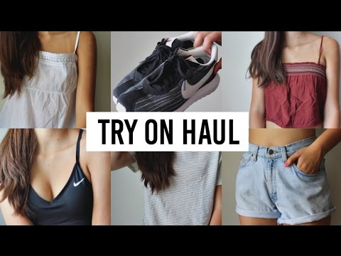 Summer Clothing Try On Haul | Thrifted, Urban Outfitter, American Apperal