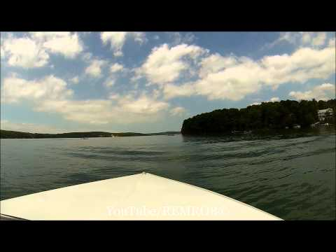Cruising Walloon Lake In Mastercraft Prostar 190